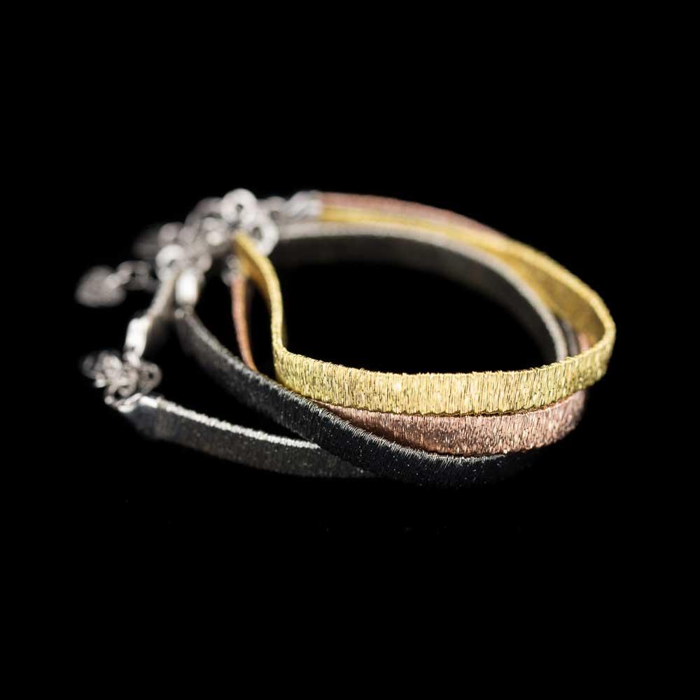 Verfijnde zilveren armband, 6mm