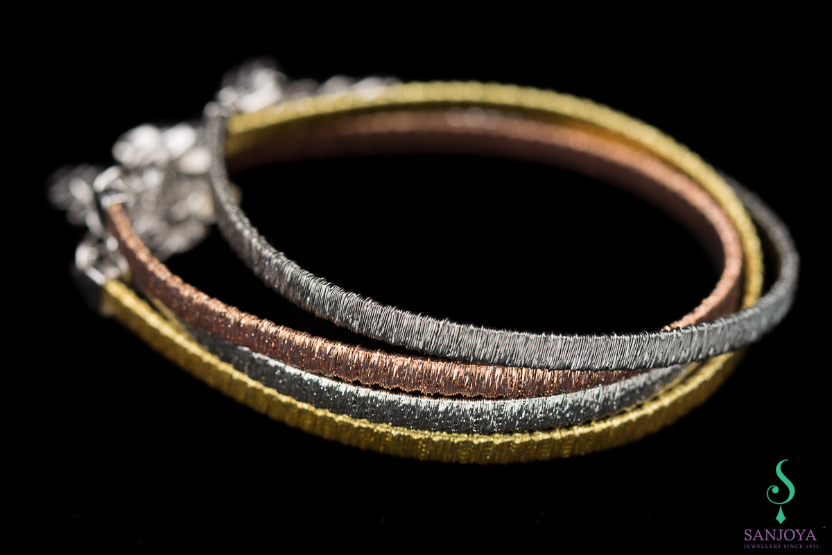 Verfijnde zilververgulde armband, 4mm